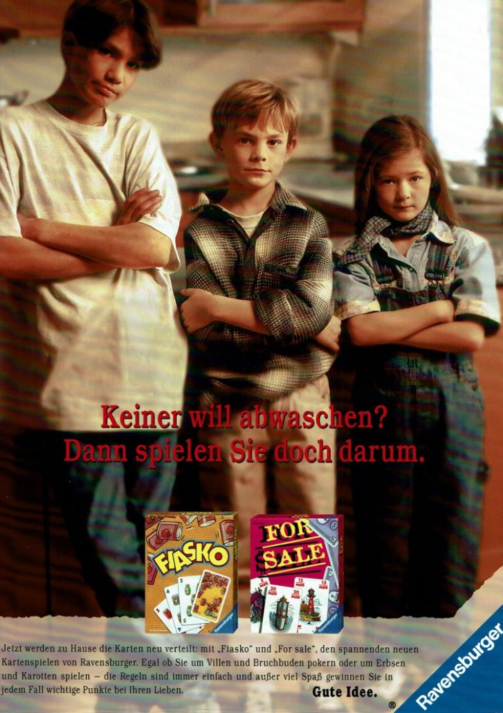 """Ravensburger - B2C-Kategoriewerbung für """"Kartenspiele"""" I Motiv: Kids I Agentur: Springer & Jacoby"""